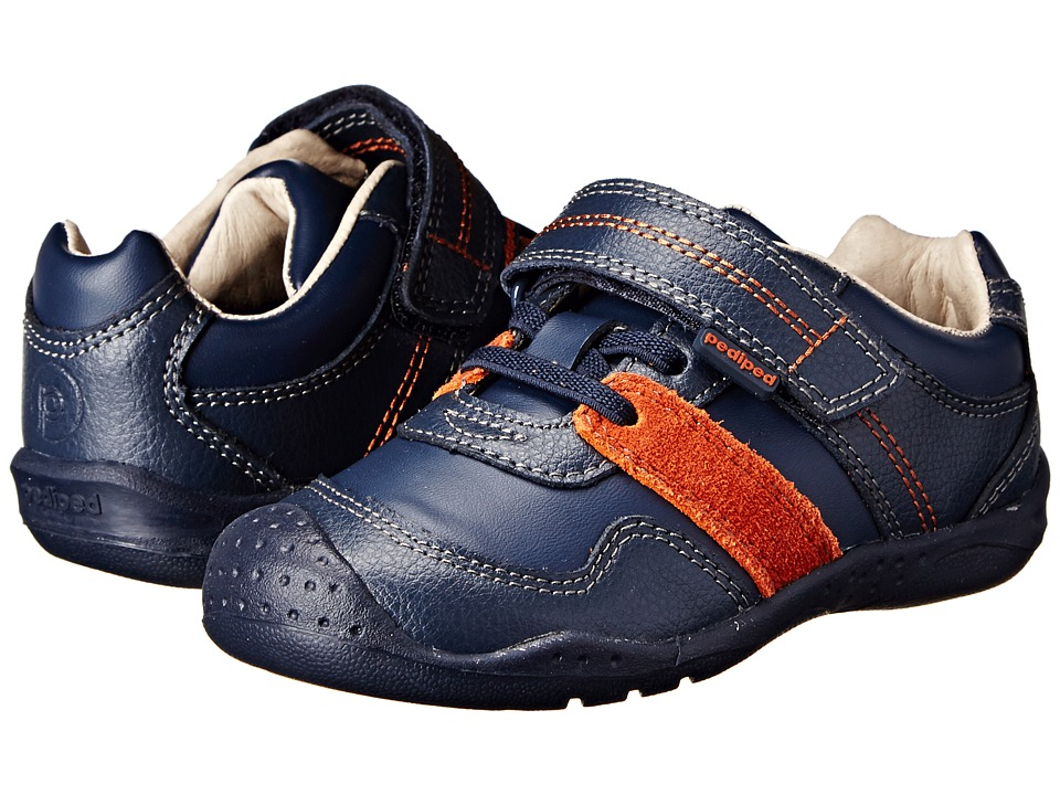 pediped - Channing Flex (Toddler/Little Kid/Big Kid) (Navy) Boy's Shoes