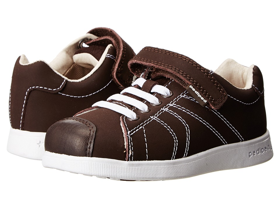 pediped - Jake Flex (Toddler/Little Kid) (Chocolate) Boy's Shoes