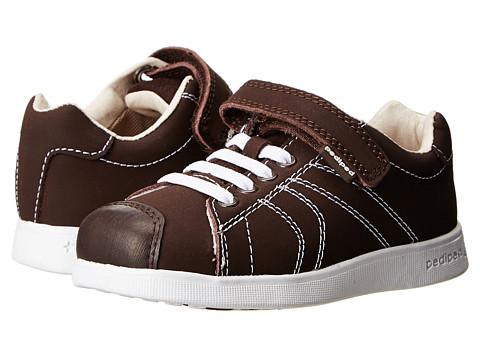 pediped - Jake Flex (Toddler/Little Kid) (Chocolate) Boy's Shoes