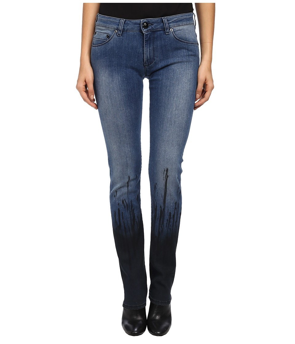 LOVE Moschino - Dip Dye Denim (Blue) Women's Jeans