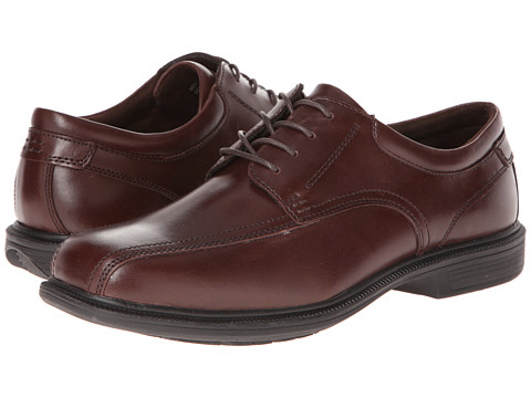Nunn Bush - Bartole St. Bicycle Toe Oxford (Brown) Men's Lace-up Bicycle Toe Shoes