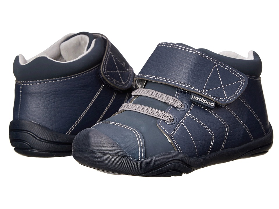 pediped - Jerome Grip 'n' Go (Infant/Toddler) (Navy) Boy's Shoes