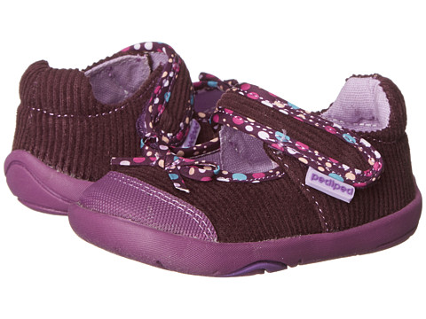 pediped - Becky Grip 'n' Go (Infant/Toddler) (Purple) Girl's Shoes