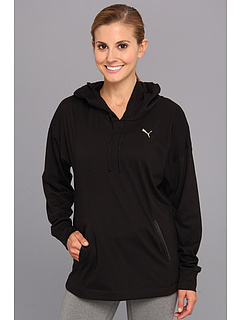 SALE! $15.99 - Save $19 on PUMA F.Core Lightweight Coverup Top I (Black) Apparel - 54.31% OFF $35.00