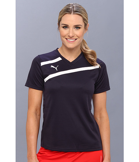PUMA - Esito Jersey (New Navy/White) Women