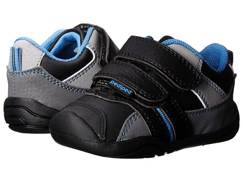 pediped - Frank Grip 'n' Go (Infant/Toddler) (Black) Boy's Shoes