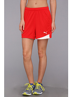 SALE! $15.99 - Save $7 on PUMA Esito Short (Puma Red White) Apparel - 30.48% OFF $23.00