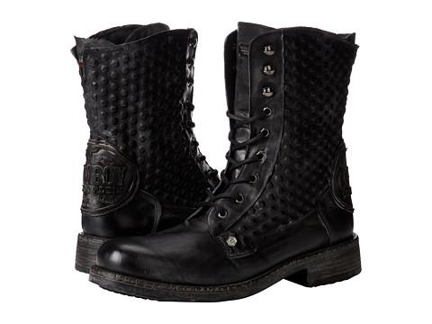 Philipp Plein - City Boy Boot (Black) Men's Boots