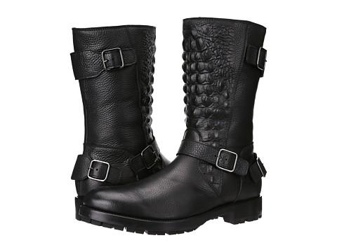 Philipp Plein - Metal Boot (Black) Men's Zip Boots