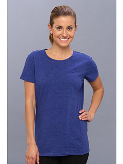SALE! $17.99 - Save $8 on PUMA Multi Tee (Mazarine Blue Heathe) Apparel - 30.81% OFF $26.00