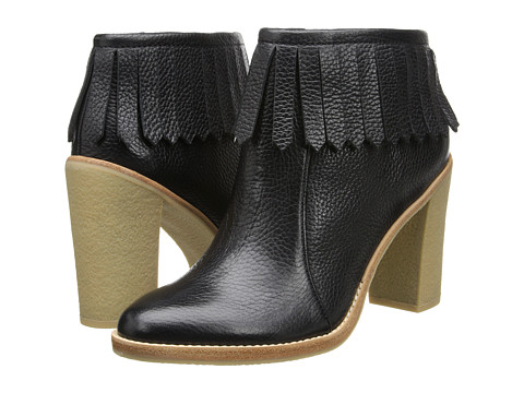 10 Crosby Derek Lam - Monet (Black Tumbled Leather) Women