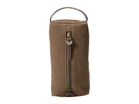 Timberland - Canvas Cord Case (Olive) Travel Pouch