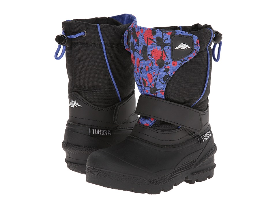 Tundra Boots Kids - Quebec Medium (Toddler/Little Kid/Big Kid) (Black/Bug) Boy