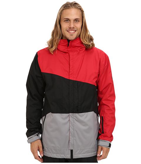 686 - Authentic Prime Jacket (Cardinal Colorblock) Men's Coat