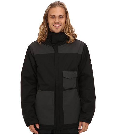 686 - Authentic Revert Jacket (Black Herringbone Dobby) Men's Coat