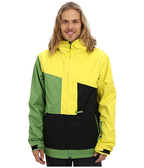 686 - Authentic Prime Jacket (Celery Colorblock) Men's Coat