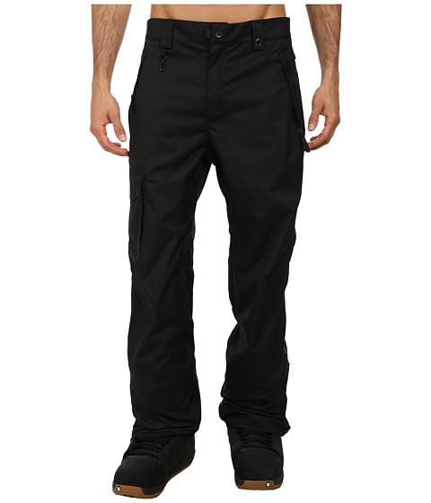 686 - Authentic Standard Pant (Black) Men's Outerwear