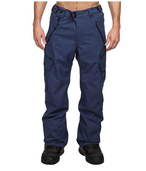 686 - Authentic Smarty Cargo Pant - Regular (Indigo Texture) Men