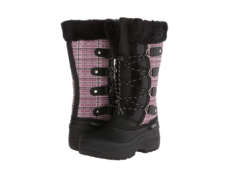 Tundra Boots Kids - Diana (Little Kid/Big Kid) (Print Tulip) Girl's Shoes