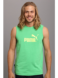SALE! $14.99 - Save $7 on PUMA Large Logo No.1 Sl Tee (Island Green Sunny L) Apparel - 31.86% OFF $22.00