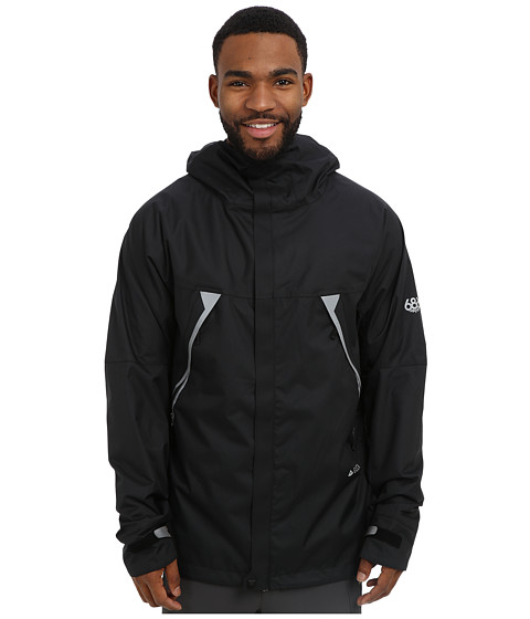 686 - Glacier Tract Jacket (Black) Men's Coat