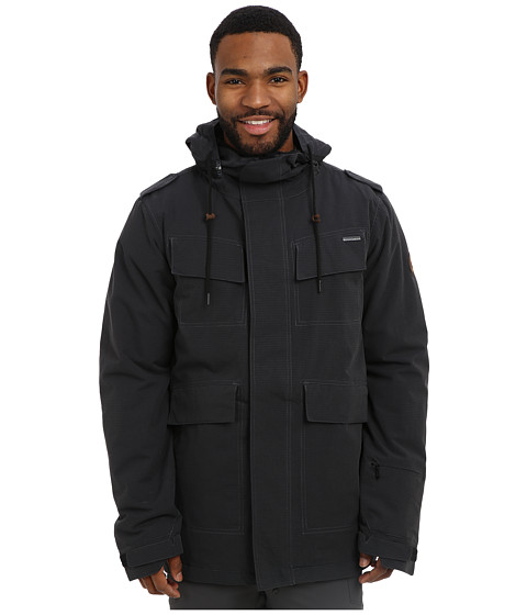 686 - Parklan Field Jacket (Black Ripstop) Men's Coat