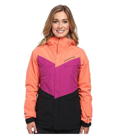 686 - Authentic Annex Jacket (Coral Colorblock) Women's Jacket