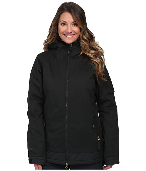 686 - Authentic Aerial Jacket (Black Hrbn Denim) Women's Jacket