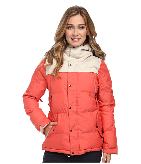 686 - Authentic Runway Infiloft Jacket (Tomato Heather Twill) Women's Jacket
