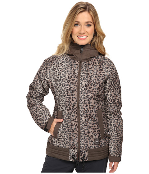 686 - Authentic Lynx Jacket (Tobacco Leopard Lace) Women's Jacket