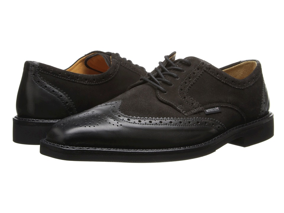 Mephisto - Paolino (Dark Grey Supreme/Graphite Suede) Men's Shoes