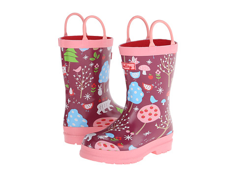 Hatley Kids - Rain Boots (Toddler/Little Kid) (Winter Forest) Girls Shoes