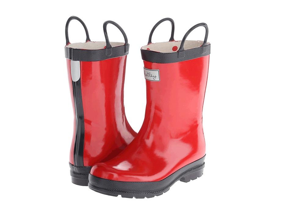 Hatley Kids - Rain Boots (Toddler/Little Kid) (Red/Navy) Kids Shoes