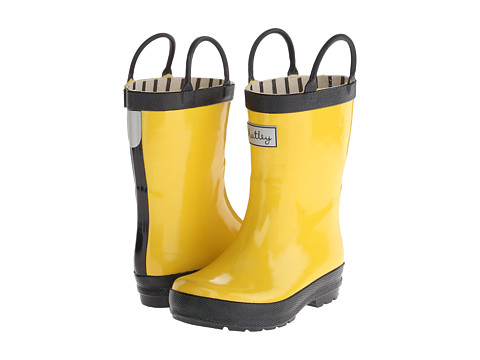 Hatley Kids - Rain Boots (Toddler/Little Kid) (Yellow) Kids Shoes
