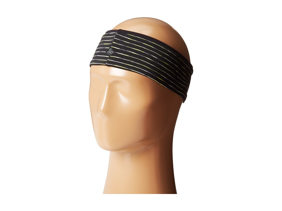 Prana - Reversible Headband (Black) Headband