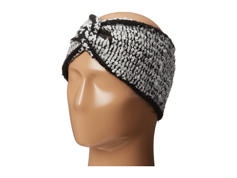 LAUREN by Ralph Lauren - Avenue Tweed Headband (Black/Heritage Cream) Headband