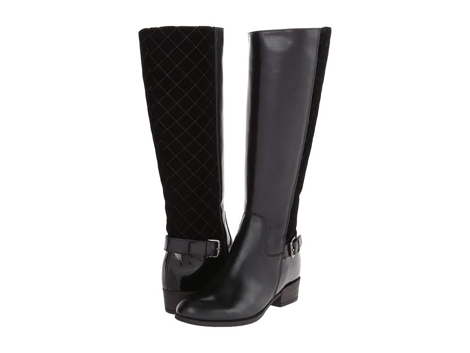 Sesto Meucci - Melany (Black Calf/Black Silky Velvet) Women's Shoes