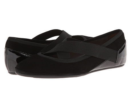 Sesto Meucci - Tammie (Black Asiago/Black Patent) Women's Shoes