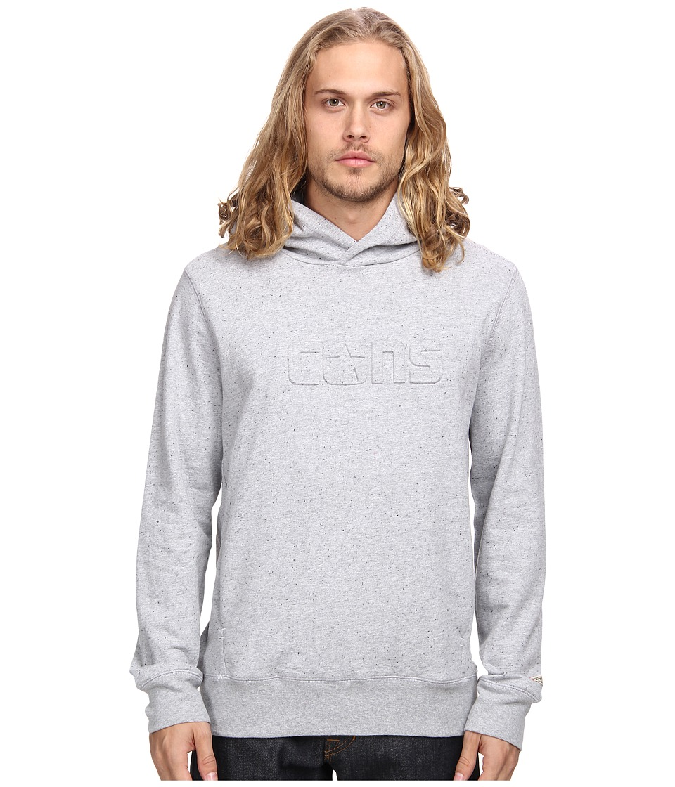 Converse - Donegal Fleece PO Hoodie (Grey) Men's Sweatshirt