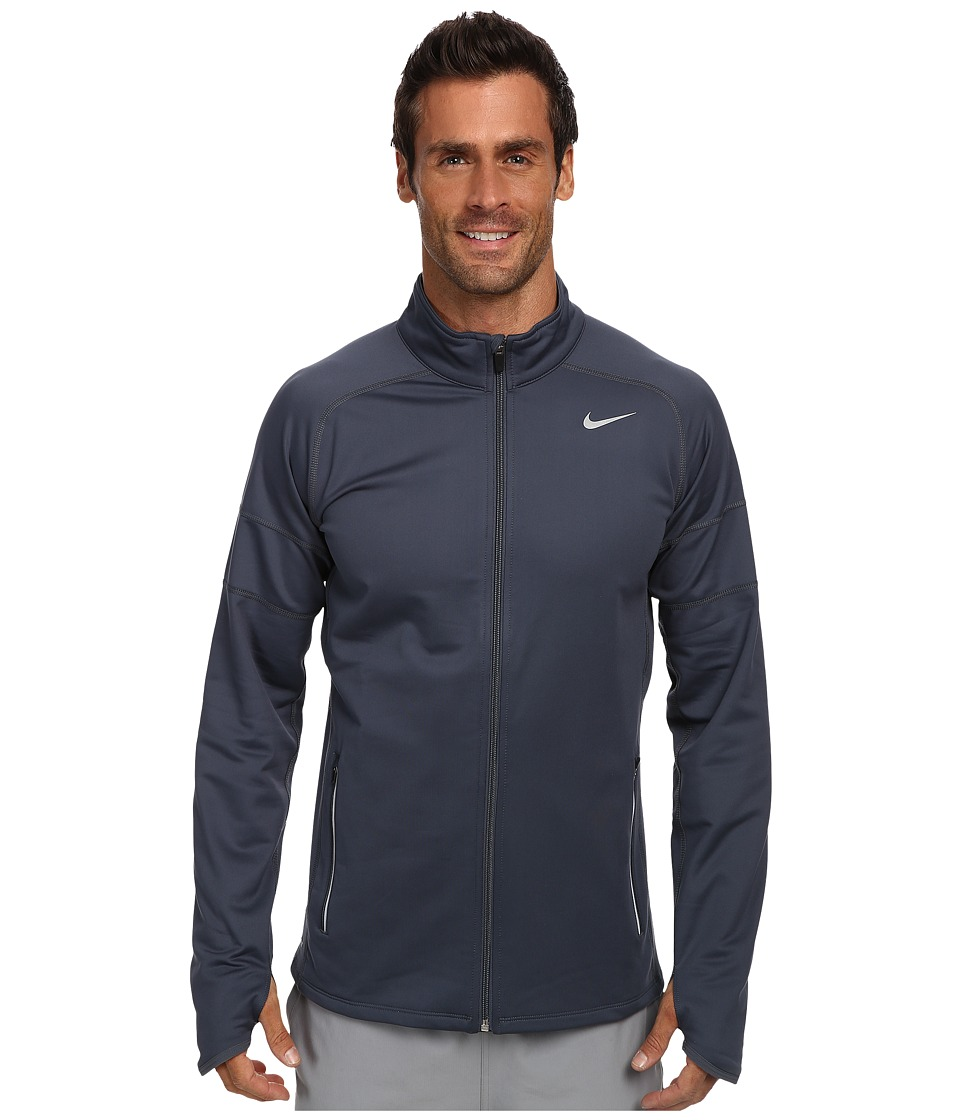 Nike - Element Thermal Full Zip (Dark Magnet Grey/Dark Magnet Grey/Reflective Silver) Men's Sweatshirt