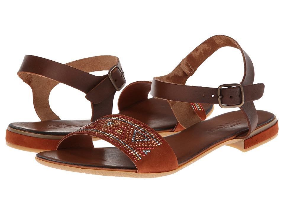 Sesto Meucci - Carlie (Ambra Rust/Cuoio Cowhide) Women's Shoes