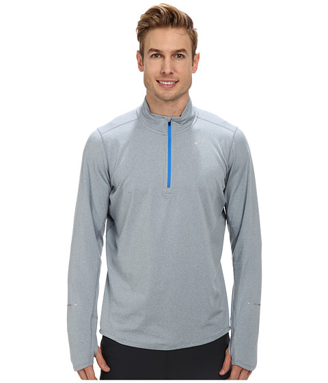 Nike - Element Half-Zip (Magnet Grey/Heather/Photo Blue/Reflective Silver) Men's Long Sleeve Pullover