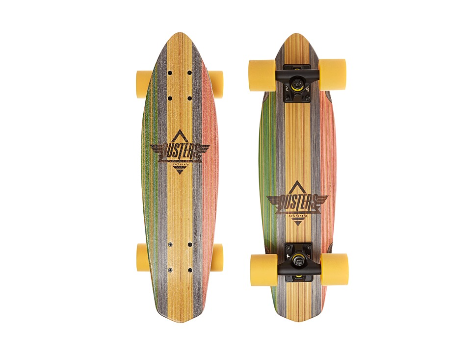 Dusters - Ace V-Ply Cruiser (Rasta) Skateboards Sports Equipment
