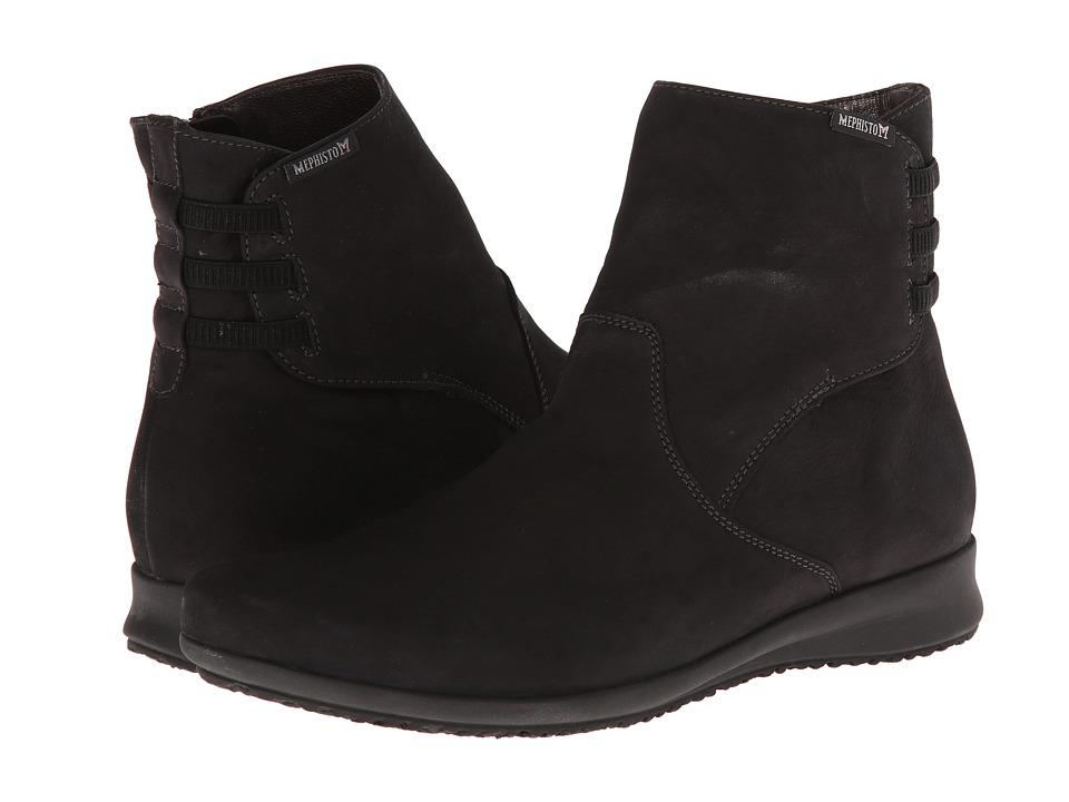 Mephisto - Fenna (Black Bucksoft) Women's Boots