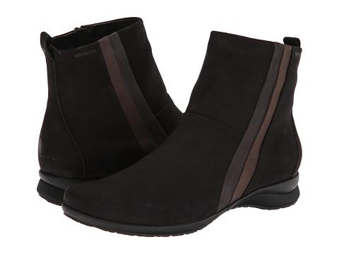 Mephisto - Janine (Black/Graphite/Grey Bucksoft) Women's Boots