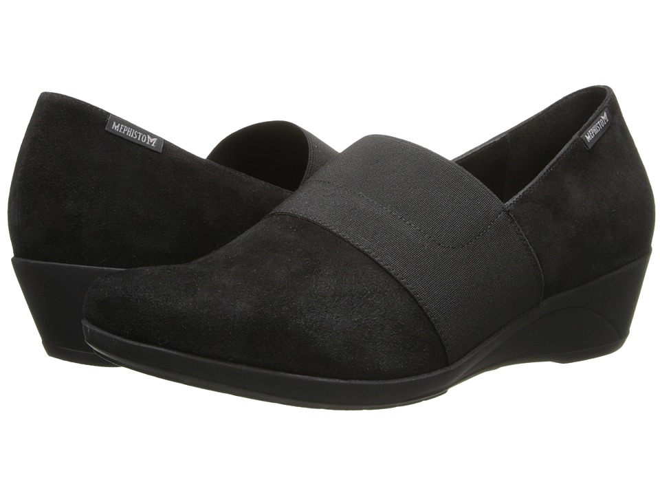 Mephisto - Kalima (Black Velcalf Premium) Women's Shoes