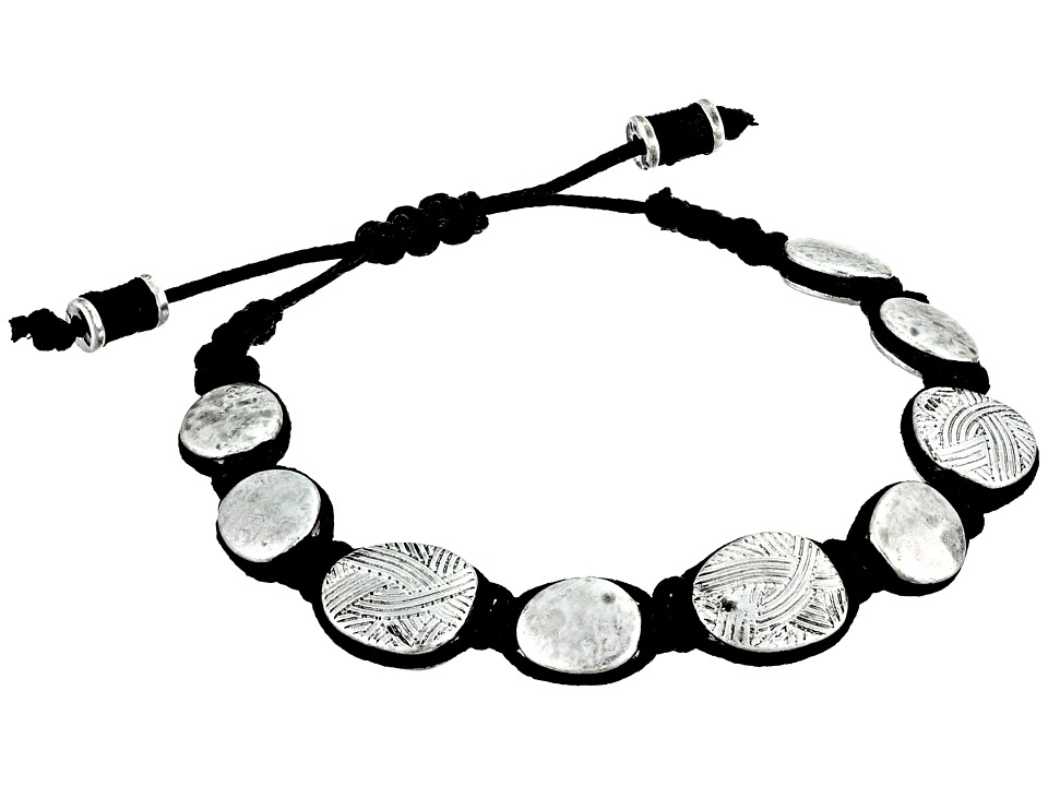 The Sak - Batik Pebble Slider Bracelet (Silver) Bracelet