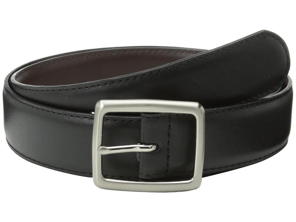 Florsheim - Center Bar Reversible 32mm (Black/Brown) Men's Belts