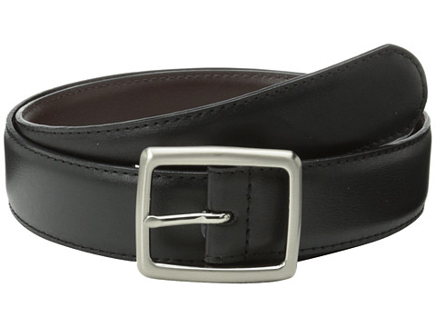 Florsheim - Center Bar Reversible 32mm (Black/Brown) Men's Belts