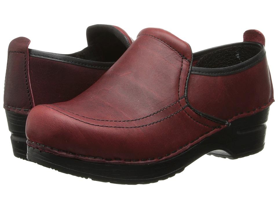 Sanita - Saratoga (Red) Women's Clog Shoes